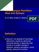 Pertimbangan Pemilihan Obat Anti Epilepsi Dr Nelly Edit 23 Jan