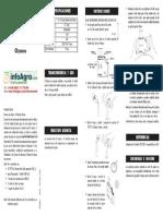 Instrucciones Kit Ozono Hi38054