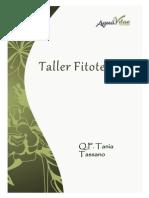 Tallerfitoterapia Q.F.taniaTassano