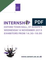 Internship Fair 2013 II Web