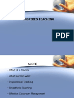 Presentation Inspired Teaching