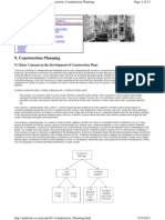 Unit-I Construction Planning