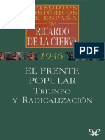 El Frente Popular triunfo y radicalización   Ricardo De La Cierva.pdf