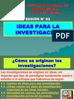 - SESION N° 03 - IDEAS PARA INVESTIGAR.ppt