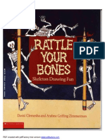 Rattle Your Bones- Skeleton Drawing Fun-Viny