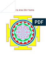 20231210 How to Draw Shri Yantra in 14 Steps