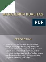Bab 5 Manajemen Kualitas