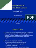 Rupture Disc Fundamentals