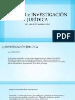 investigación juridica