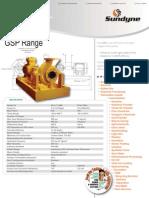 HMD Kontro Sealless Pump API-685 GSP Data Sheet
