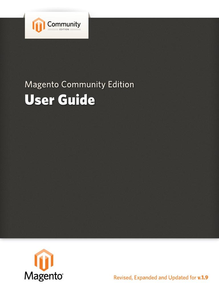magento community edition user guide v 1 9 magento file transfer