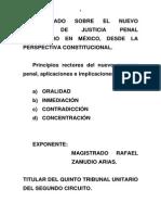 1.1.-Principios Rectores Del Nuevo Proceso Penal