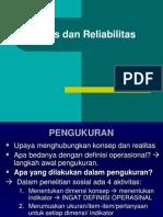 Valditas Dan Reliabilitas