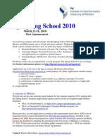 ifgi Spring School 2010