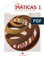 Libro Ejercicios de Matematicas 1 5 Ed Completo Con Portada