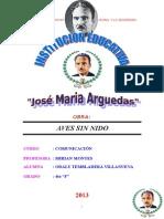 Monografia Aves Sin Nido