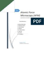 Tugas Atomic Force Microscopy