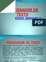 Procesador de Texto Word 2010