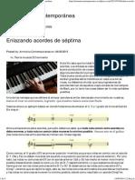 Enlazando Acordes de Séptima _ Armonía Contemporánea