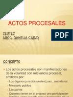 Actos Procesales Ceutec 2.1