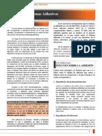 CLASE 01 - Adhesion y Sistemas Adhesivos