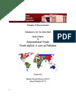 Report on International Trade