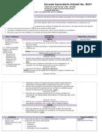 Planeacion Ciencias II Bloque II