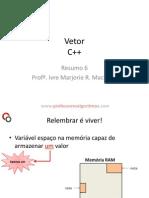 Resumo6 Vetor Cpp