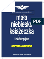 Wee Blue Book - EU Section in Polish