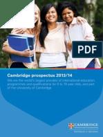 cambridge prospectus