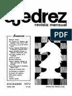Ajedrez 224-Dic 1972 Ocr