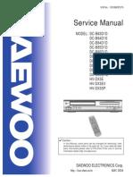 Daewoo Vhs-dvd users manual