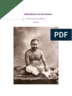Hundiéndome en Mi Mismo Sri Parameshwar Maharaj (Extracto)