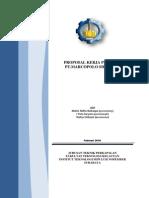 Proposal Kerja Praktek (Pt. Marcopolo Shipyard)