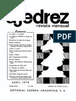 Ajedrez 288-Abr 1978 Ocr