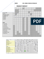 Present Perfect Crossword
