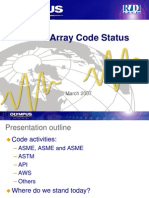 Phased Array Code Status
