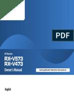 Yamaha - AV Receiver RX-V473