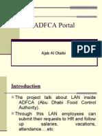 Adfca Portal