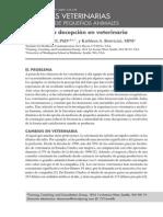 Afrontar La Decepcion en Veterinaria