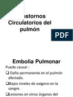 Transtornos Circulatorios Del Pulmón