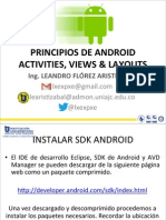2-Principios de Android Activities Views & Layouts