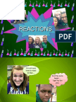 Reactions With Redox