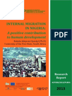 Internal Migration Nigeria