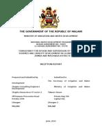 Inception Report for Seven Market Centre-full