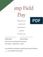 Camp Field Day