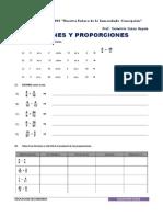 Sesion de Aprendizaje de Razones y Proporciones Ccesa007
