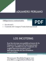 Sistema Aduanero y Obligaciones Contractuales