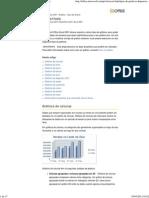 Tipos de Gráficos Disponíveis - Excel - Office