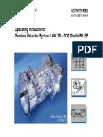 Transmissão Voith Gearbox Retarder System GO170 - GO210 With R115E 60 Pag.